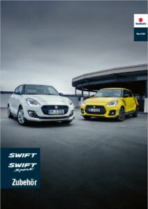 Original-Zubehör Suzuki Swift und Swift Sport